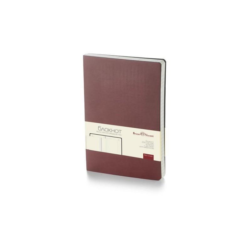 Блокнот А5 «Megapolis Flex» soft-touch коричневый