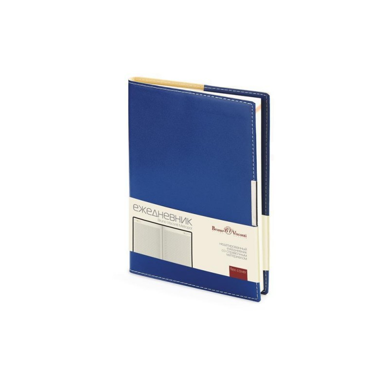 Ежедневник недатированный А5 «Metropol» синий