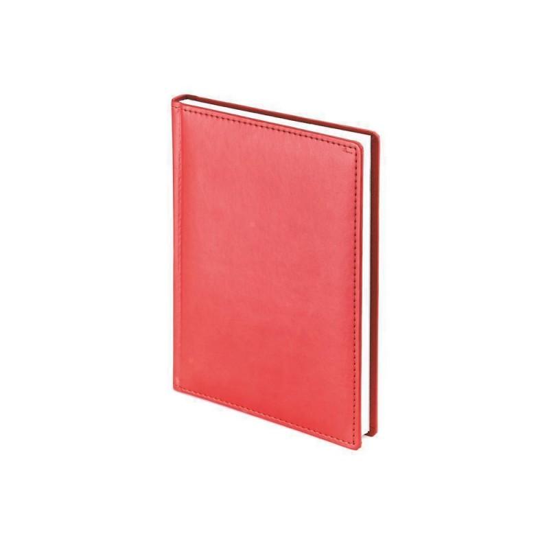 Ежедневник недатированный А4 «Velvet» красный