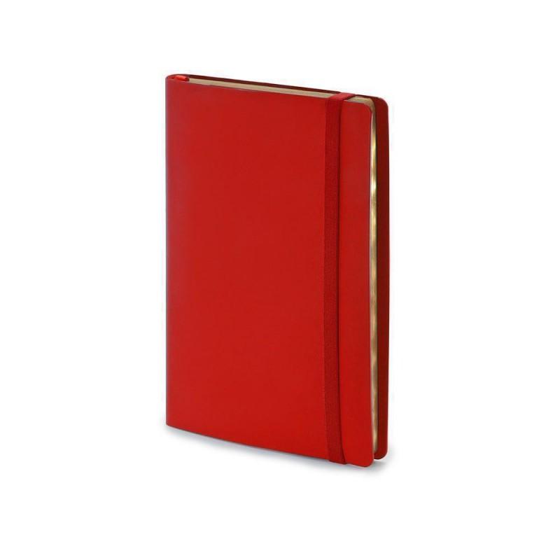Ежедневник недатированный А5  'Oxford' красный