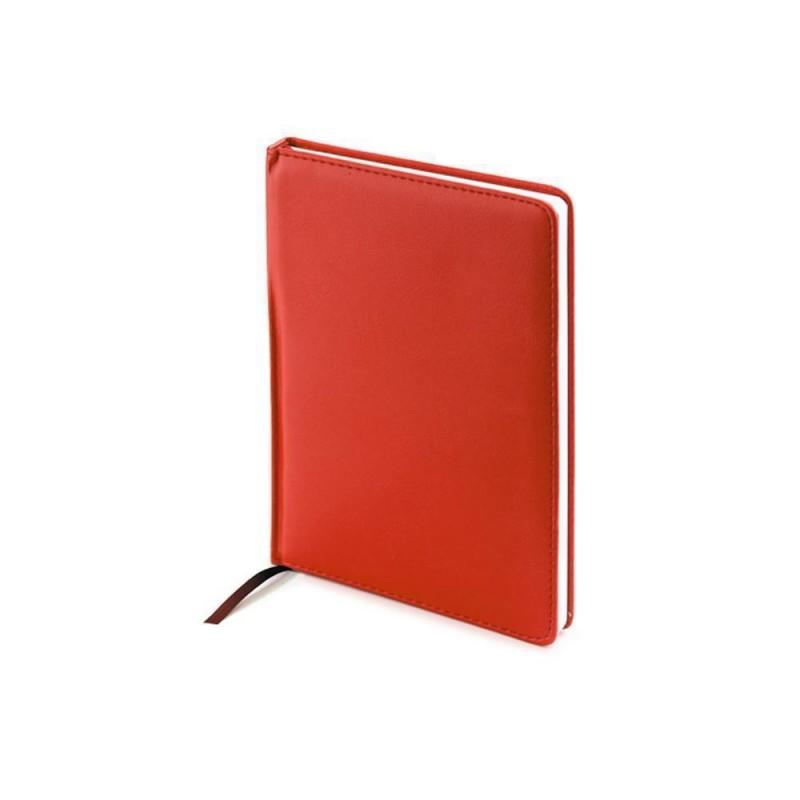 Ежедневник А5 недатированный «Leader» красный