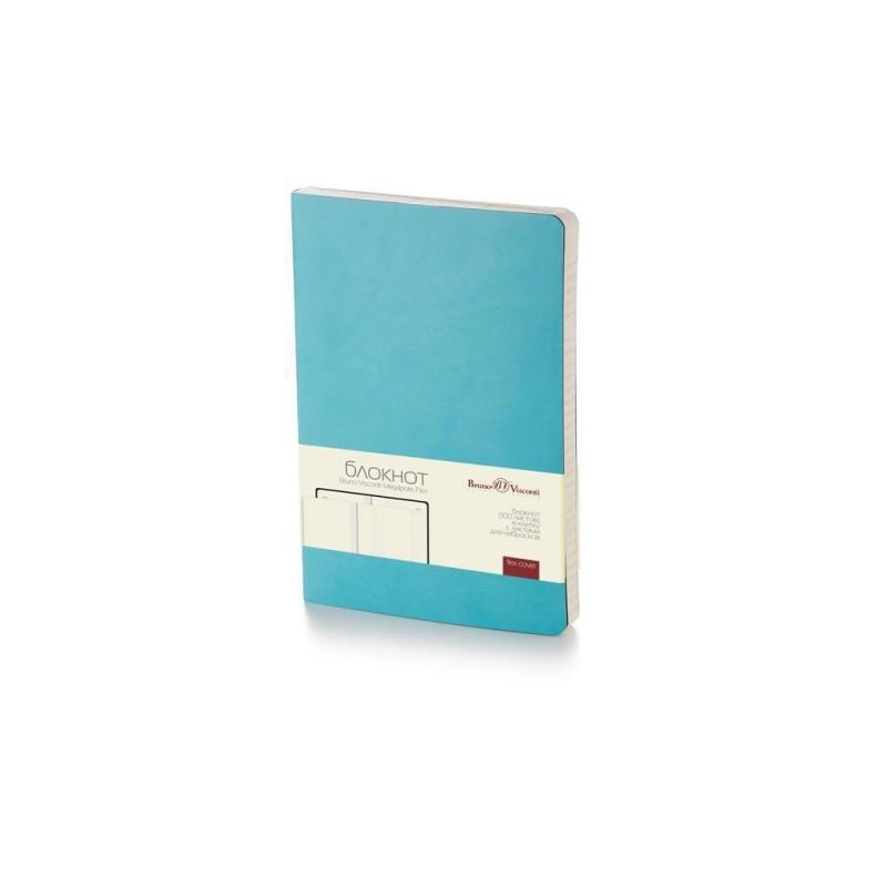 Блокнот А5 «Megapolis Flex» soft-touch бирюзовый