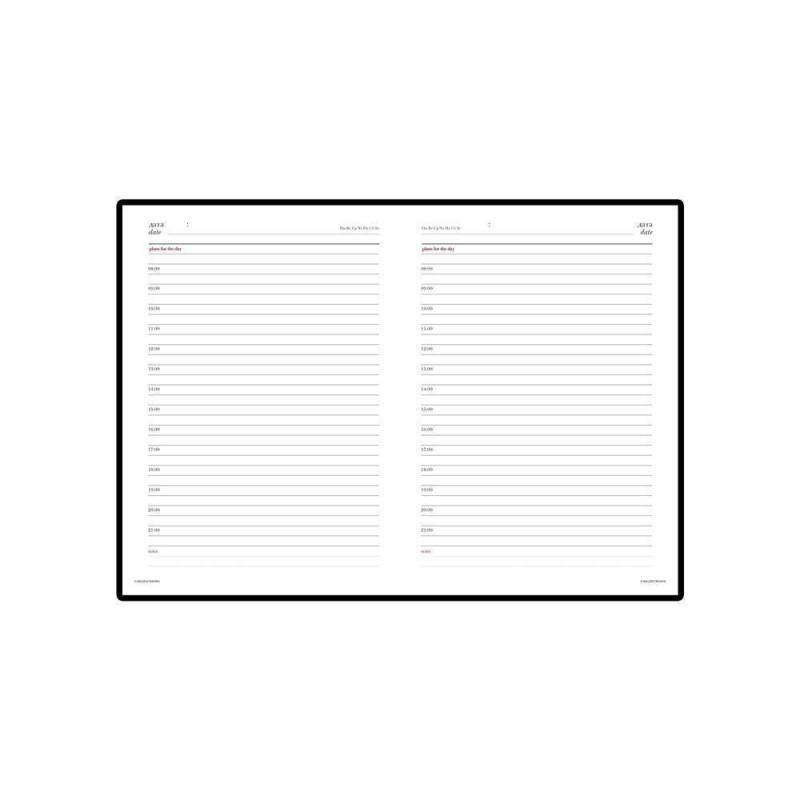 Ежедневник недатированный А6+ «Velvet» серый