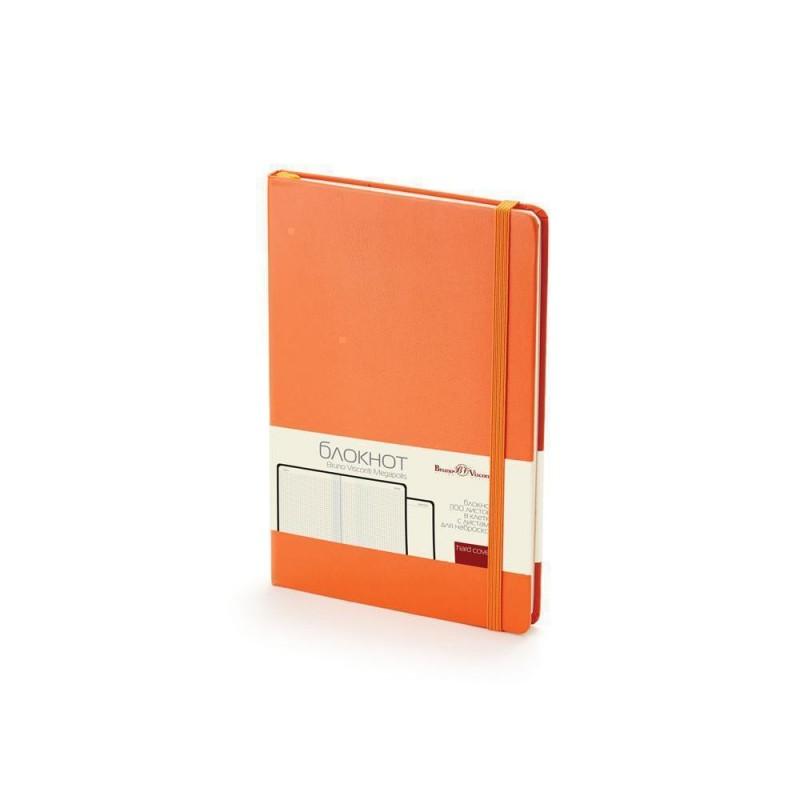 Блокнот А5 «Megapolis Journal» оранжевый
