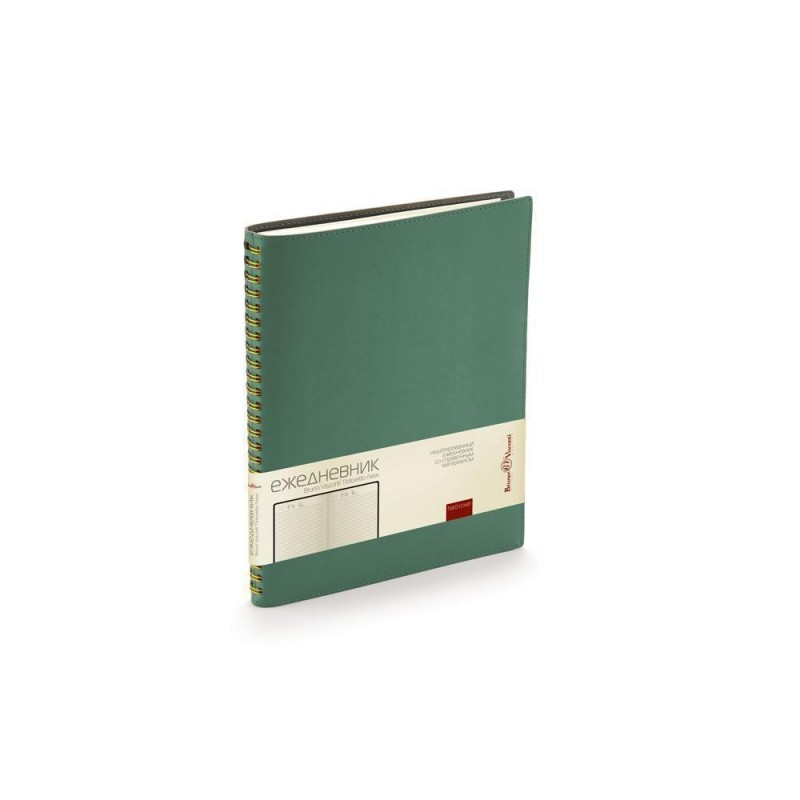 Ежедневник недатированный B5 «Tintoretto New» зеленый