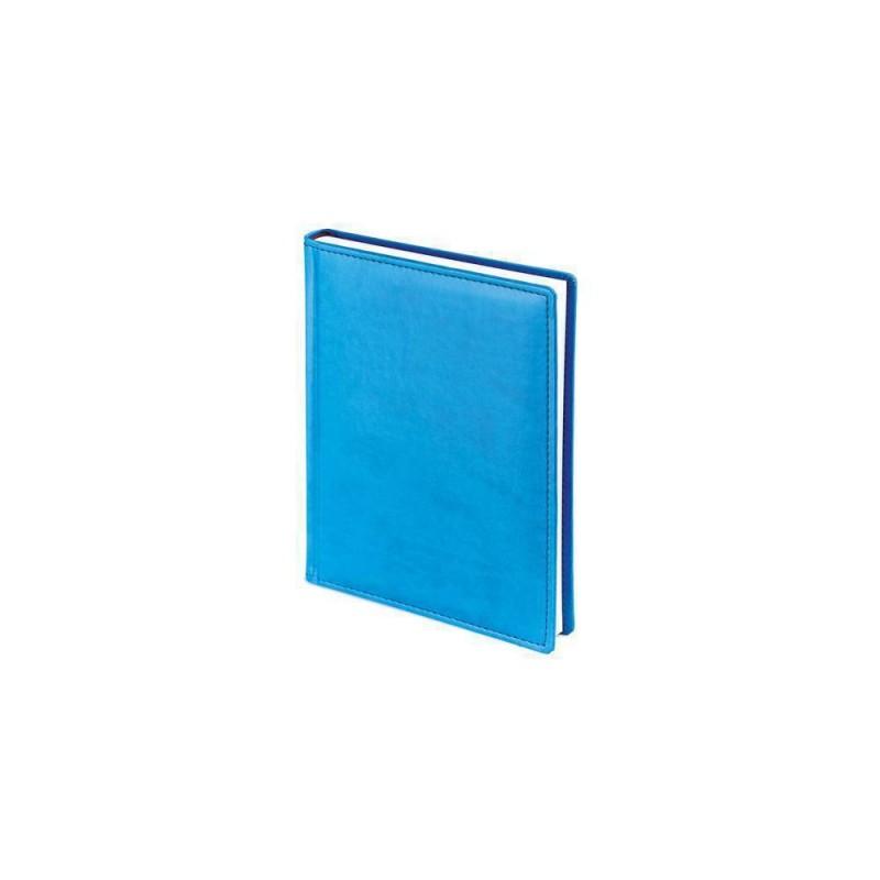 Ежедневник недатированный А6+ «Velvet» синий флуор