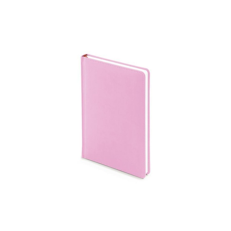 Ежедневник недатированный А5 «Velvet» нежно-розовый