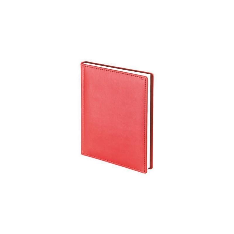 Ежедневник недатированный А6+ «Velvet» красный