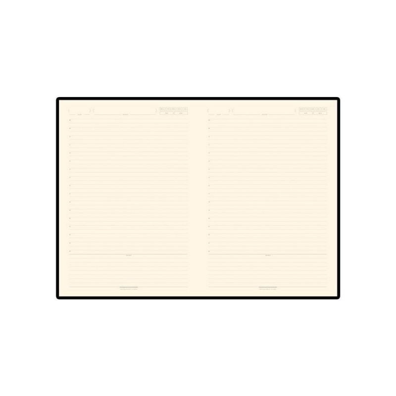Ежедневник В5 недатированный «Leggenda» серый