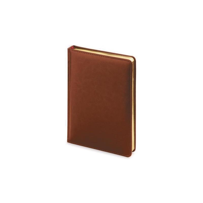 Ежедневник недатированный А5 «Sidney Nebraska» коричневый