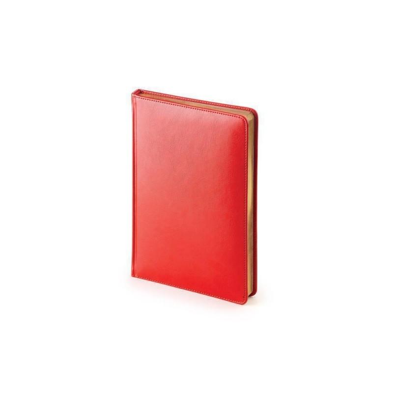 Ежедневник недатированный А5 «Sidney Nebraska» красный