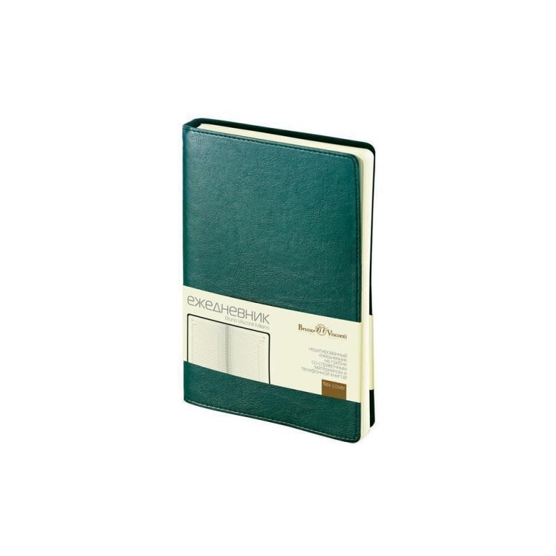 Ежедневник А5 недатированный «Milano» зеленый
