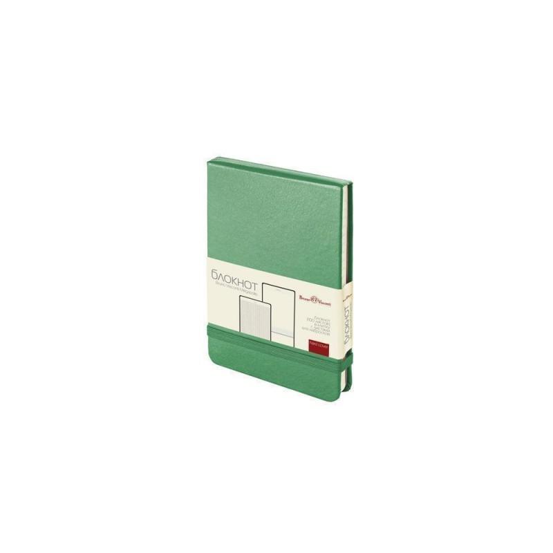 Блокнот А6 «Megapolis Reporter» зеленый