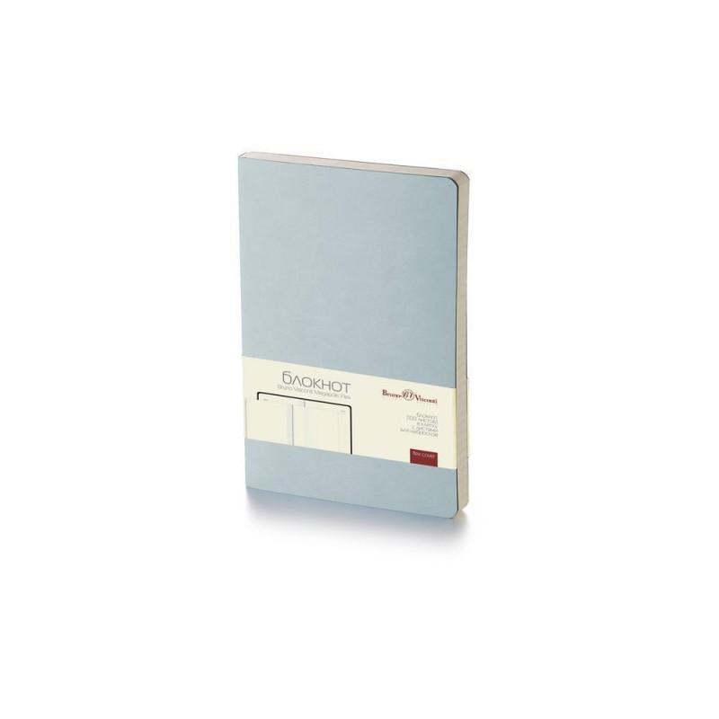 Блокнот А5 «Megapolis Flex» soft-touch серебристый
