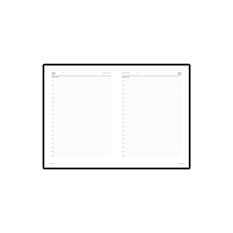 Ежедневник недатированный А4 «Sidney Nebraska» коричневый