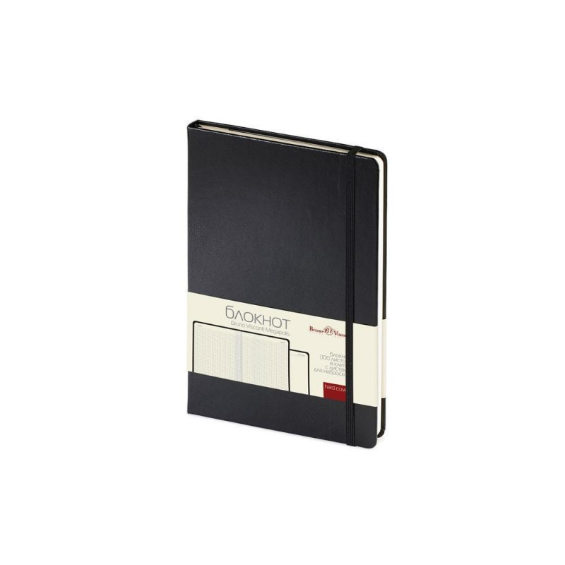 Блокнот А5 «Megapolis Journal» черный