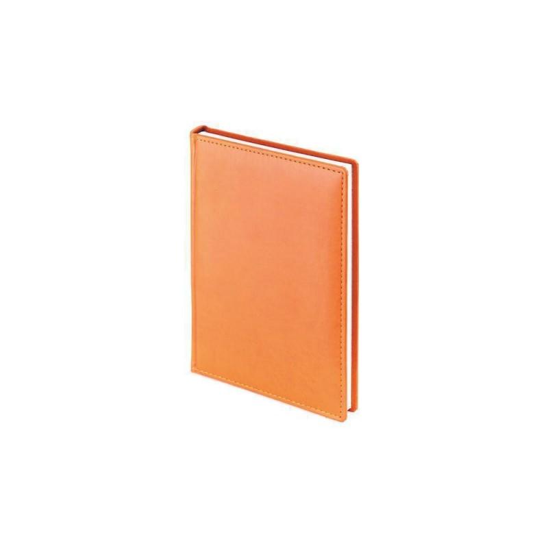 Ежедневник А5 датированный «Velvet» 2020 оранжевый