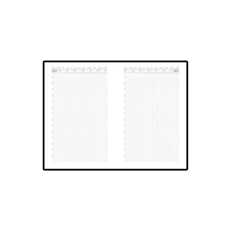Ежедневник недатированный А5 «Stockholm» серебро