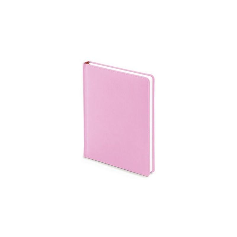 Ежедневник недатированный А6+ «Velvet» нежно-розовый