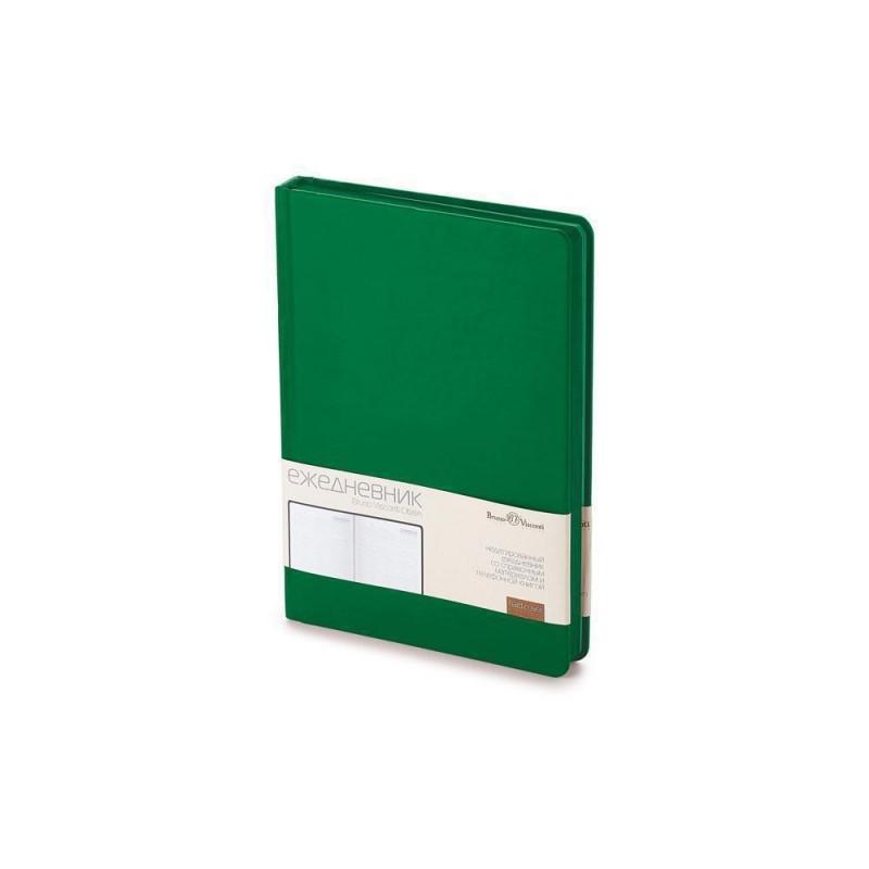 Ежедневник А5 недатированный «Citizen» темно-зеленый