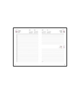 Ежедневник А5 датированный «Leader» 2020 бордовый