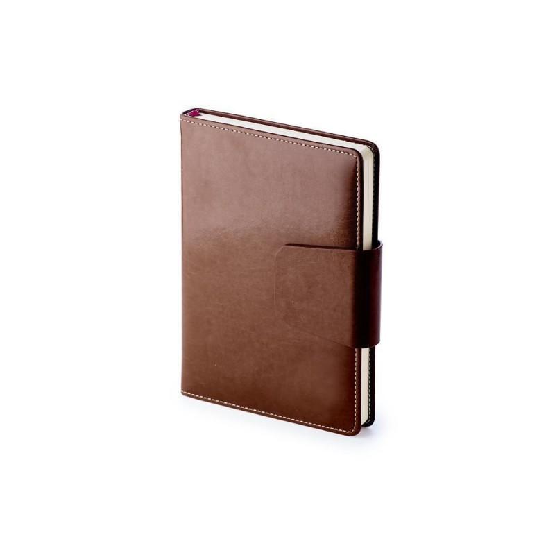 Ежедневник А5 недатированный «Prestige» коричневый