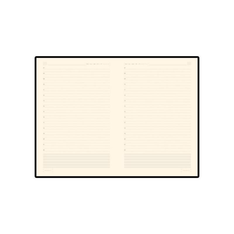 Ежедневник недатированный  А5 'Primavera' коричневый