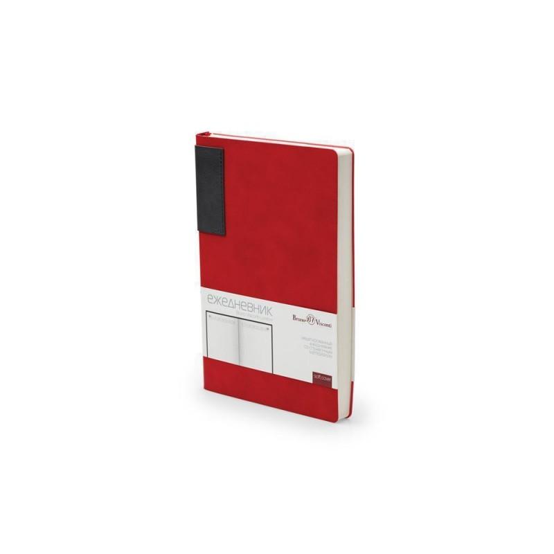Ежедневник недатированный  А5 'London' красный