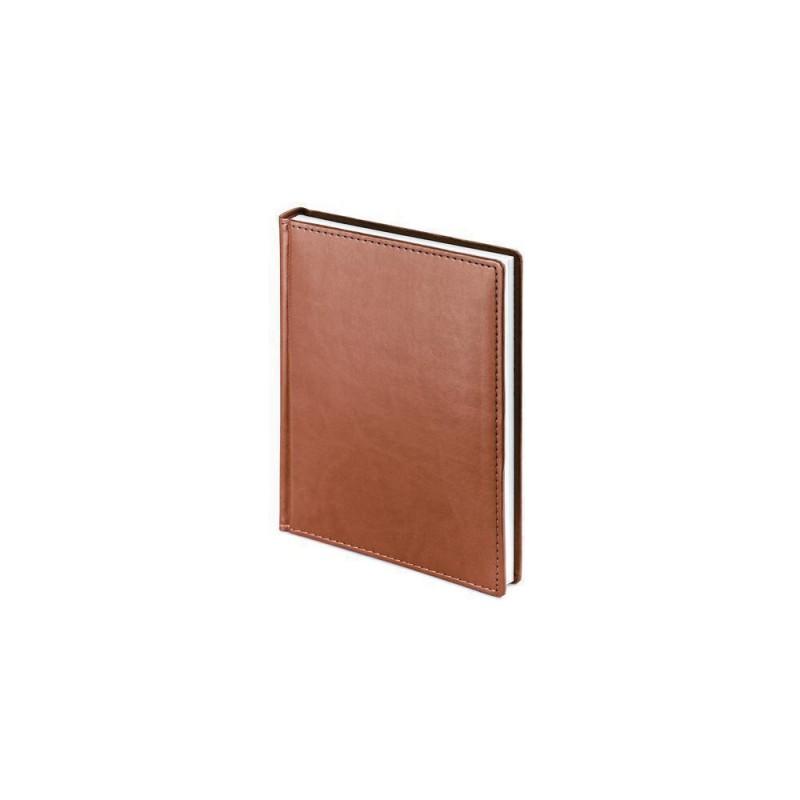 Ежедневник недатированный А6+ «Velvet» светло-коричневый