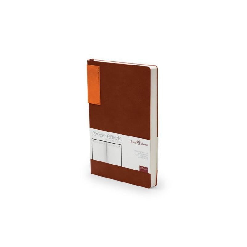 Ежедневник недатированный  А5 'London' коричневый