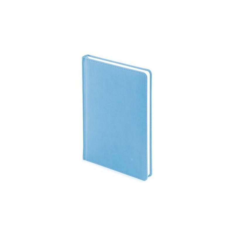 Ежедневник недатированный А5 «Velvet» небесно-голубой