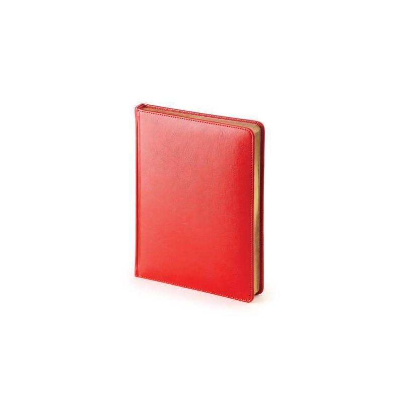 Ежедневник недатированный А6+ «Sidney Nebraska» красный