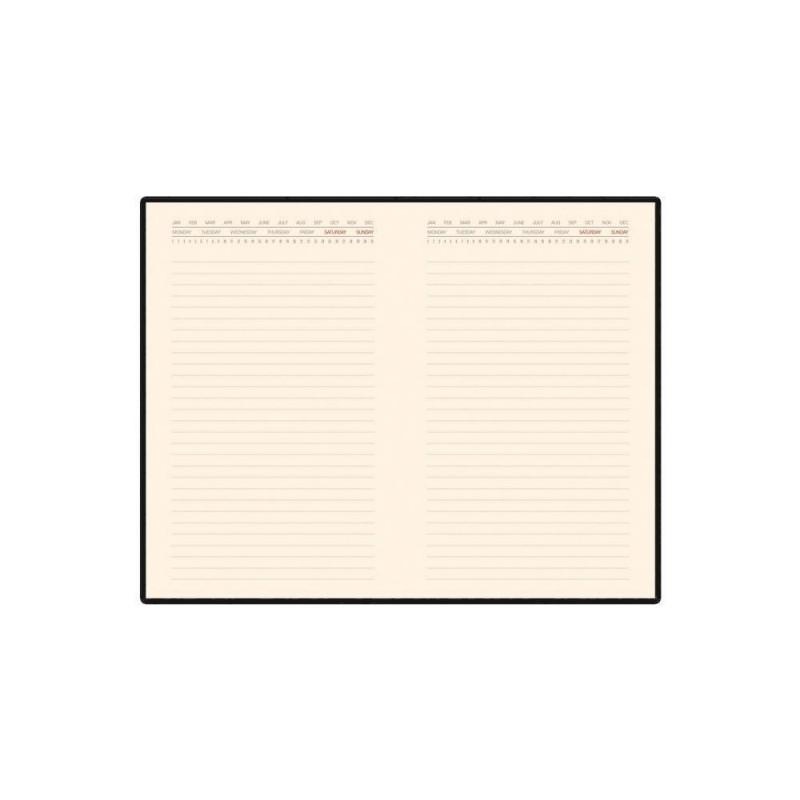 Ежедневник недатированный А5 'Marseille' бирюзовый