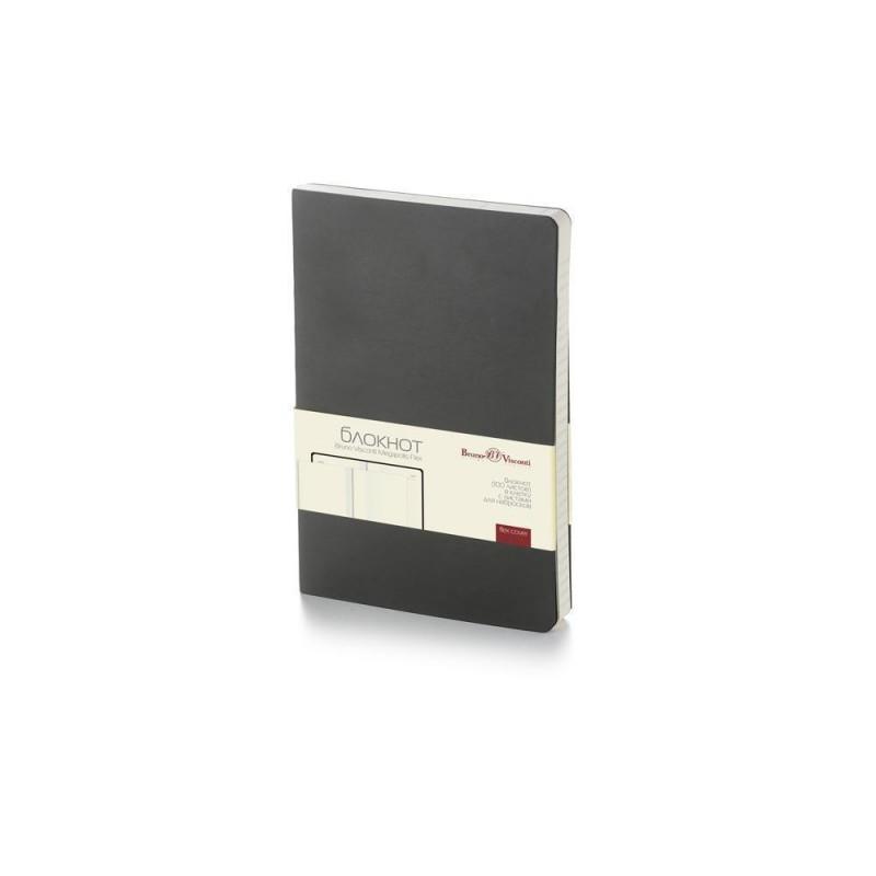 Блокнот А5 «Megapolis Flex» soft-touch черный