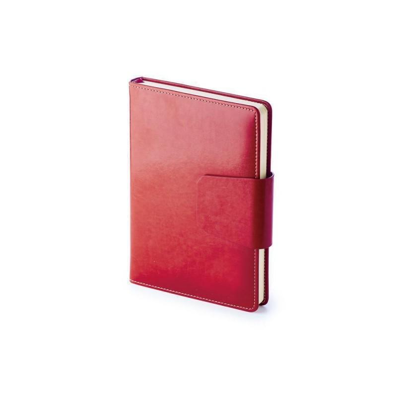 Ежедневник А5 недатированный «Prestige» красный