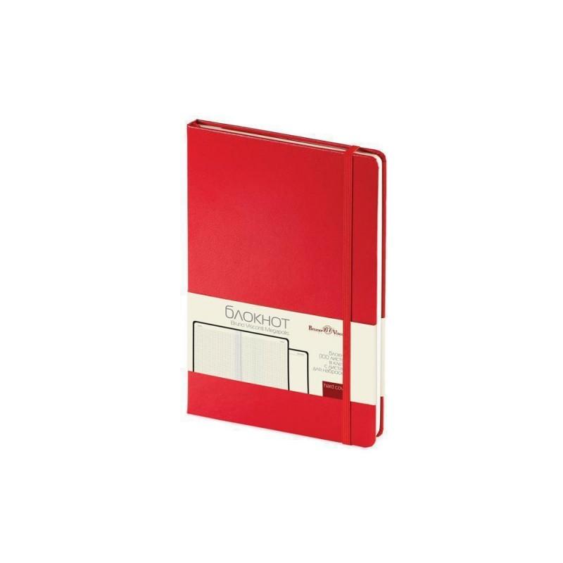 Блокнот А5 «Megapolis Journal» красный