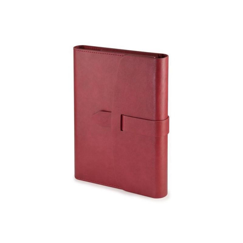 Ежедневник недатированный А5 'Senate' с магнитным клапаном бордовый