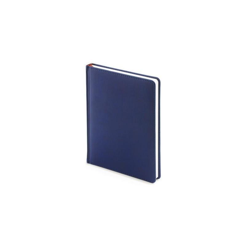 Ежедневник недатированный А6+ «Velvet» темно-синий