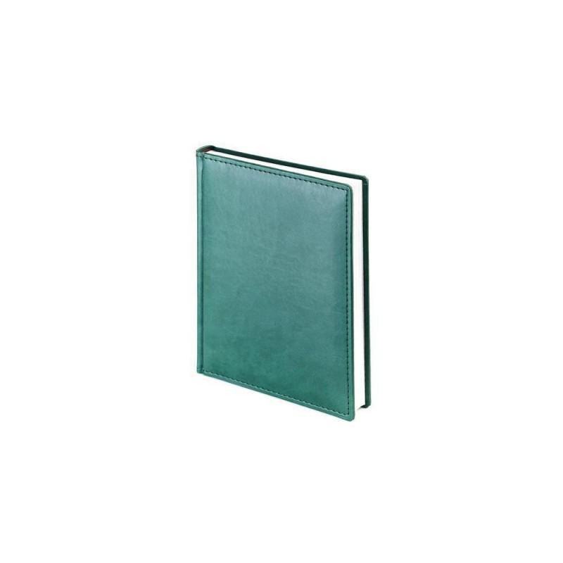 Ежедневник недатированный А6+ «Velvet» зеленый