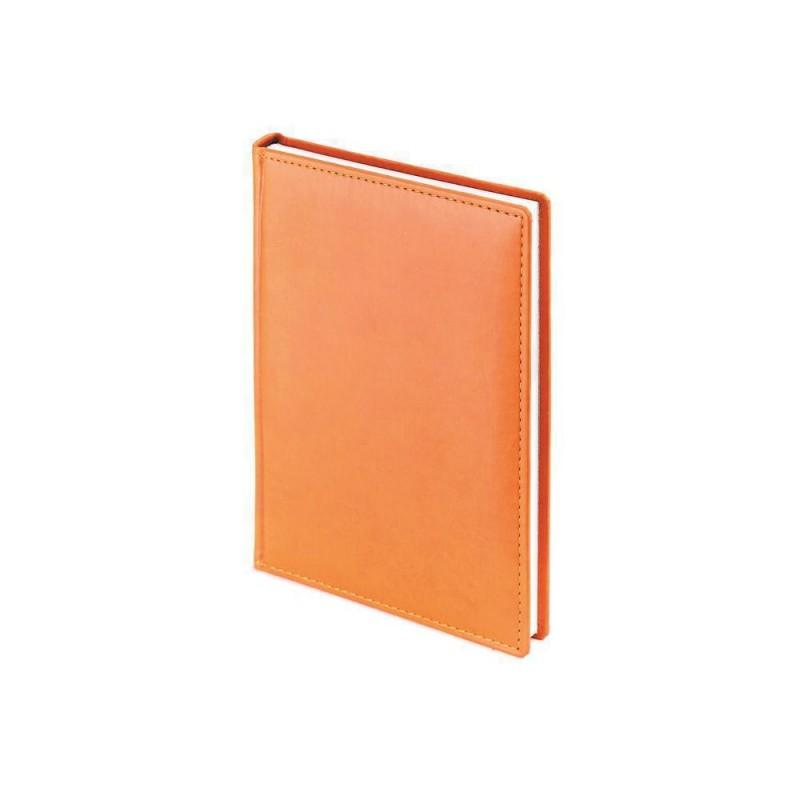 Ежедневник недатированный А4 «Velvet» оранжевый