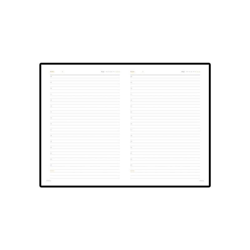 Ежедневник А5 недатированный «Polo» серый
