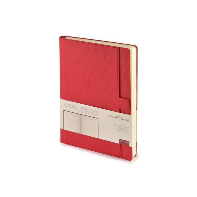 Ежедневник недатированный А5 'Marseille' красный