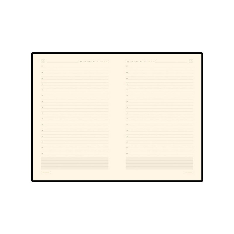 Ежедневник А5 недатированный «Zenith» красный