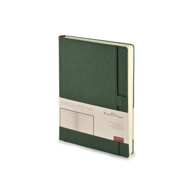 Ежедневник недатированный А5 'Marseille' зеленый