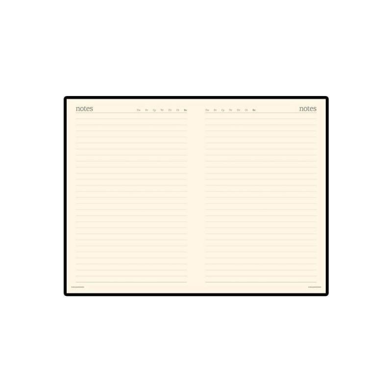 Ежедневник недатированный А5 «Megapolis» белый