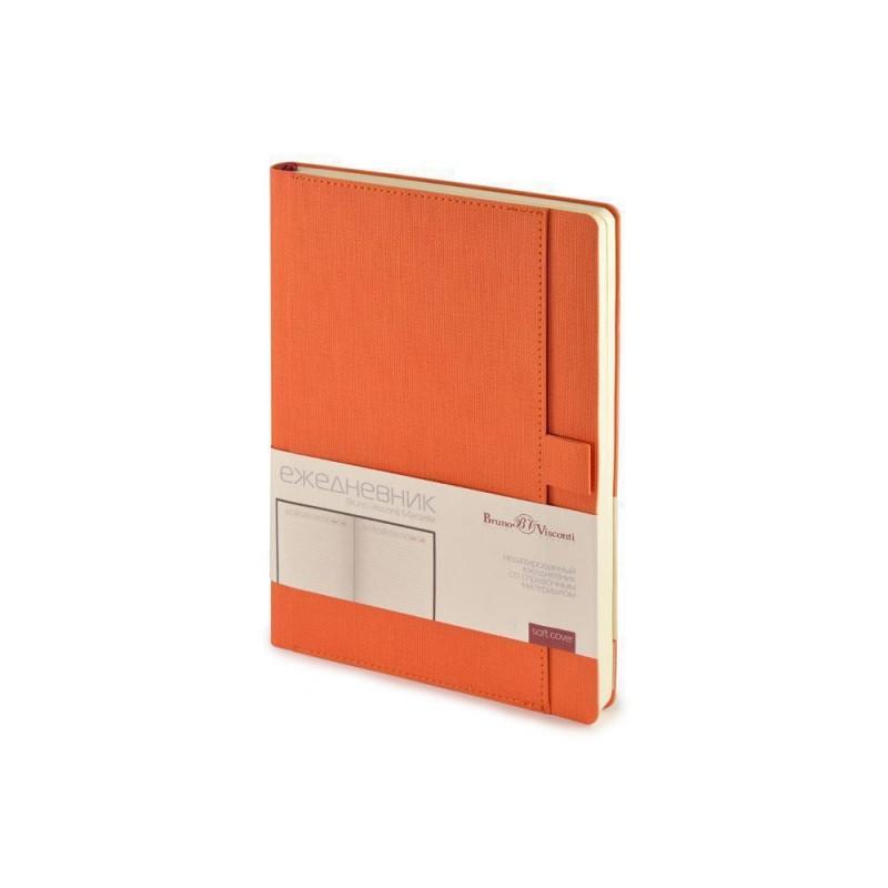 Ежедневник недатированный А5 'Marseille' оранжевый