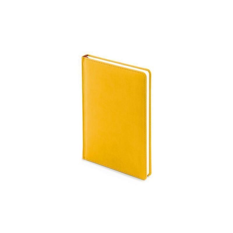 Ежедневник недатированный А5 «Velvet» желтый охра