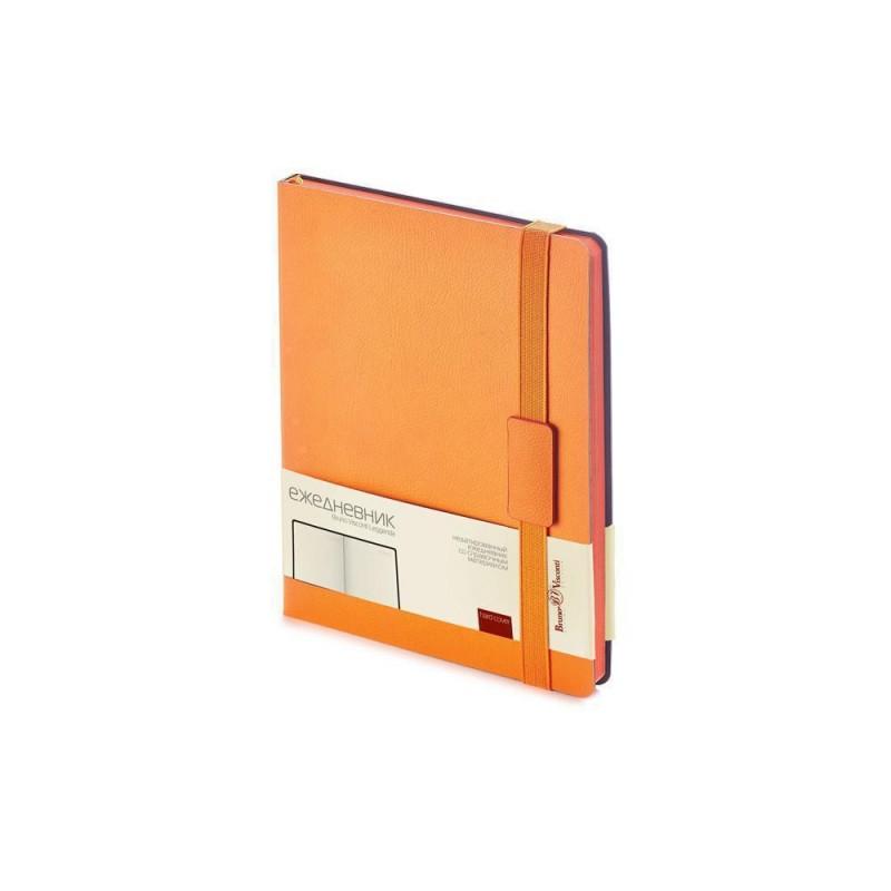 Ежедневник В5 недатированный «Leggenda» оранжевый