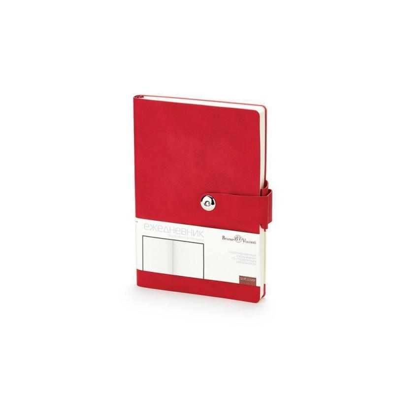 Ежедневник недатированный  А5 'Primavera' красный