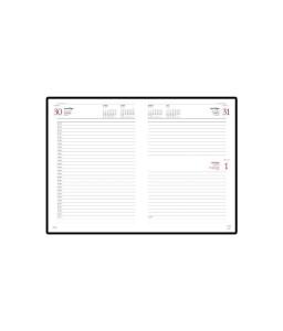 Ежедневник А5 датированный «Sidney Nebraska» 2020 зеленый